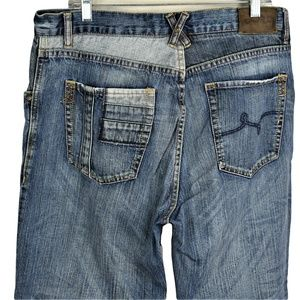 LRG Lifted Research Group Men 34 Block Head Jeans